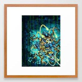 Kronos Colony Ark. Colonist Framed Art Print