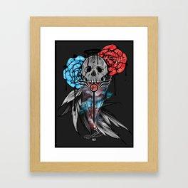 Devil May Cry Design Framed Art Print