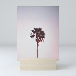 Pink Palm Tree Mini Art Print