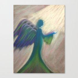 Angel of the Light Canvas Print