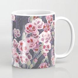 Carnations Pattern Coffee Mug