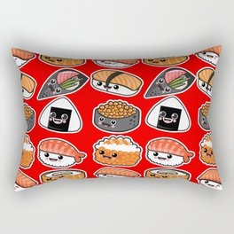 Sushi family party Rectangular Pillow