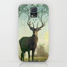 Evergreen Stage Horn Galaxy S5 Slim Case