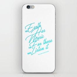 William Shakespeare quote iPhone Skin