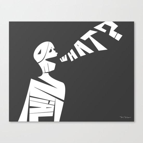 Denial Canvas Print