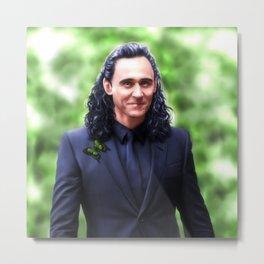Loki - Ragnarok III Metal Print