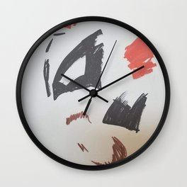 Mimalist of King Hyena Wall Clock
