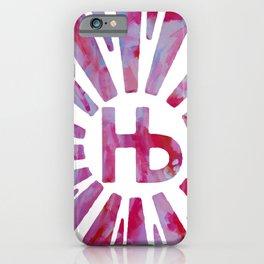 Hermosa Beach Rambla Sunburst iPhone Case