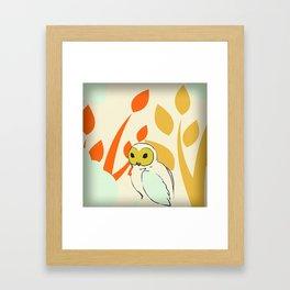 Well, Owl Be Framed Art Print
