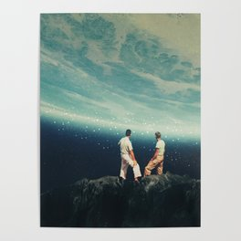 The Earth was crying and We were there Poster