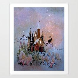 Magic Castle Kunstdrucke