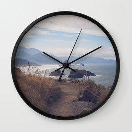 Path to Cannon Beach Wall Clock