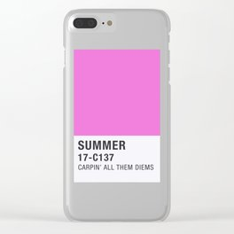 Pantone - Summer Clear iPhone Case