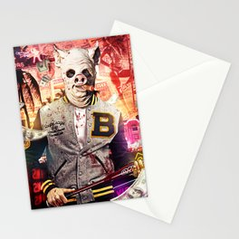 Night Out: Hotline Miami Stationery Cards