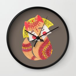 The Little Wolf Wall Clock