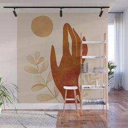 Hand Wall Mural