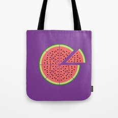 Watermelon Pizza Tote Bag
