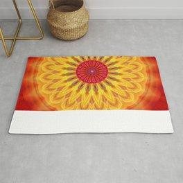 mandala sunlight Rug