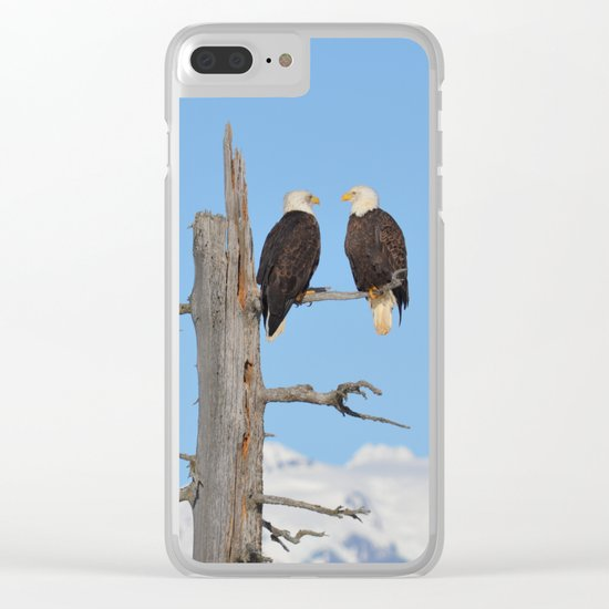 Perched With A View Duo Clear iPhone Case