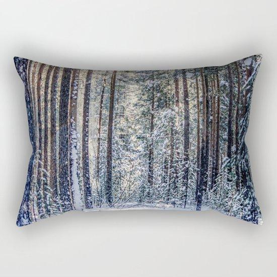Sun forest Rectangular Pillow