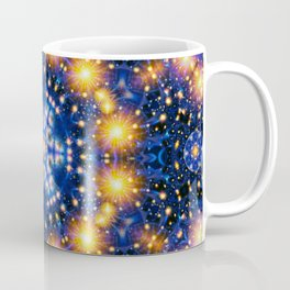 Star Burst Mandala Coffee Mug