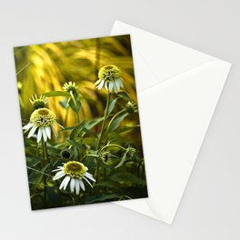 Golden Glow Stationery Cards