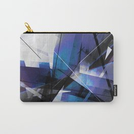 Divided by Glass - Geometic Abstract Art Carry-All Pouch