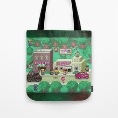 Earthbound town Tote Bag