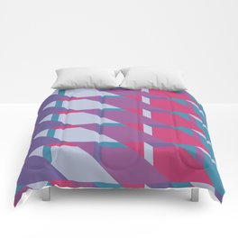 Abstract Drama #society6 #violet #pattern Comforters