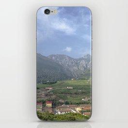 Mountain village iPhone Skin