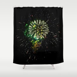 Light the Fourth Shower Curtain
