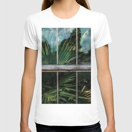 Botanical window T-shirt