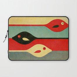 Three Fish in My Mind Laptop Sleeve