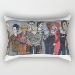 Deep Space Gang Rectangular Pillow