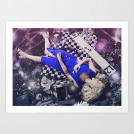 Fairytale Junkie Art Print