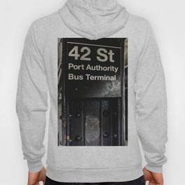 42nd street subway stop Hoody