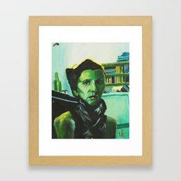The Russian Poet Framed Art Print