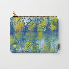By the lake watercolor Carry-All Pouch