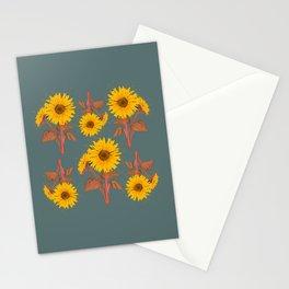 Sunflower Pattern no.1 Stationery Cards