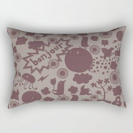 Hello Earth Rectangular Pillow