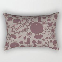 Hello Earth Rectangular Pillow