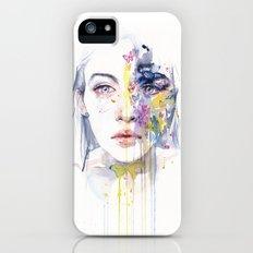 miss bow tie Slim Case iPhone (5, 5s)