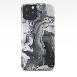 Marble B/W/G iPhone Case