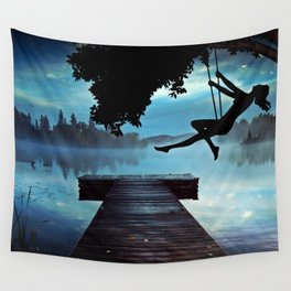 Lake Wall Tapestry