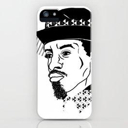 Mr 3000 iPhone Case