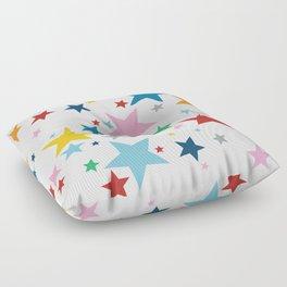 Stars Small Floor Pillow