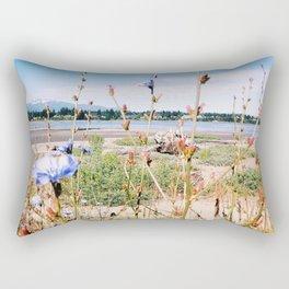 Chicory Beach Rectangular Pillow