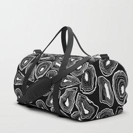 Agate Drawing Theme Duffle Bag