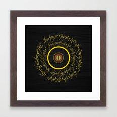 Lord Of The Ring - Sauron Eye Framed Art Print