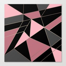 Abstraction . Geometric pattern 3 Canvas Print